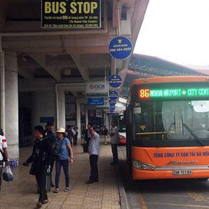 Xe buýt sân bay Nội Bài – Giờ chạy và lộ trình các tuyến bus