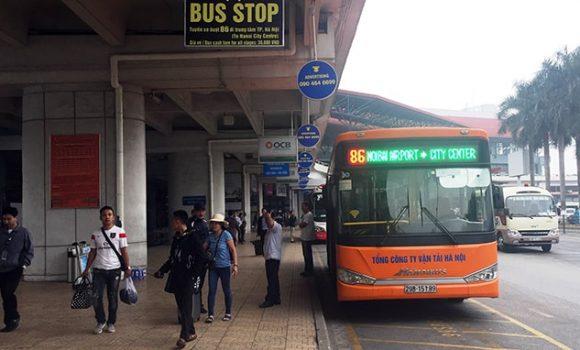 xe buýt nội bài